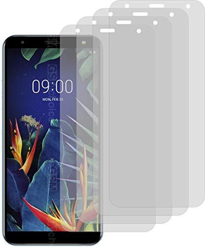 4X ANTIREFLEX matt Schutzfolie für LG K40 Displayschutzfolie Bildschirmschutzfolie Schutzhülle Displayschutz Displayfolie Folie