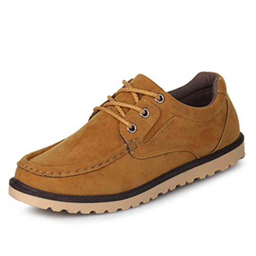 Men's Matte Leather Comfortable Oxfords Shoes as picture like 3