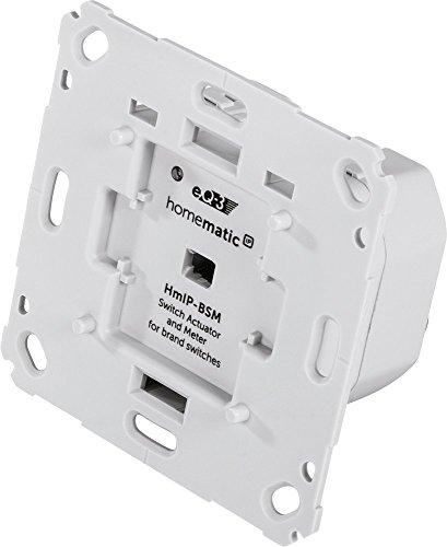 Homematic IP Schalt-Mess-Aktor für Markenschalter, 142720A0A