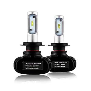 Shine co h7 led lampadine del faro kit di conversione 50w for Lampadine h7 led