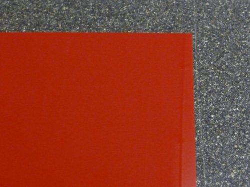 Plexiglas GS, 500 x 500 x 3 mm, rot getönt
