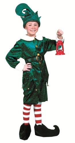 Elfenkostüm Kinder Zwerg - Weihnachtswichtel Märchen Theater Faschingskostüm