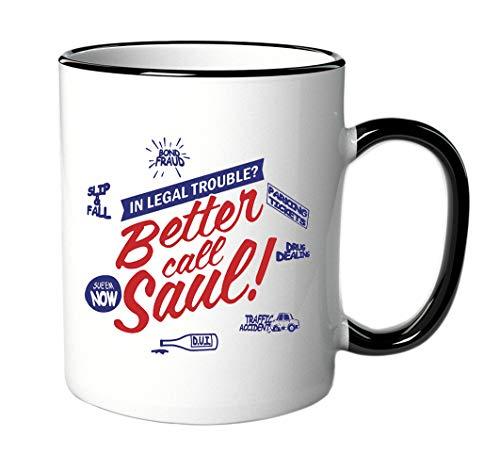 Tasse Better Call Saul für Fans der Serie/DVD - Breaking Bad - Von Dvd-filmen Lebensdauer