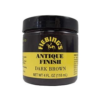 Fiebing's Dark Brown Antique Finish Paste 4oz by Fiebing