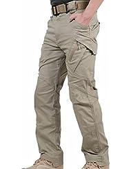 Engranaje de la táctica militar combat Reebow para hombre pantalones de deporte al aire libre sin cinturón de artes marciales, todo el año, hombre, color Marrón - caqui, tamaño L