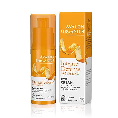 Antioxidative Augencreme (Avalon Active Organics Vitamin C Revitalisierende Augencreme mit Organischen Inhaltsstoffen. 30 ml)