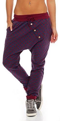 Malito Pantaloni Boyfriend Punto-Design Baggy Aladin