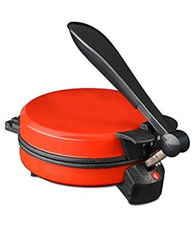 GTC Quick Clean Eagle Non-Stick Red Detachable Roti Maker 900 Watts (Diameter 8 Inch)