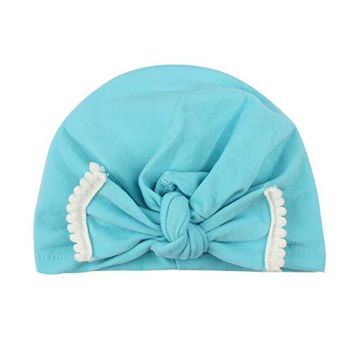 YUHUISTART Carino Neonato Bambino Bambini Baby Boy Girl Cool Turban Cotton Beanie Comfort Hat Winter Warm Hat