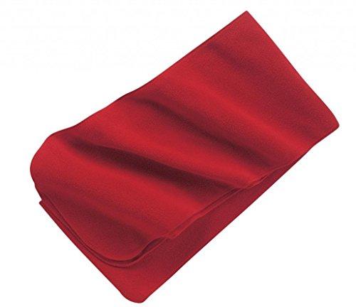 Autorité portuaire Écharpe longue en polaire Rouge - Rouge