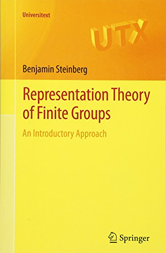 Representation Theory Of Finite Groups: An Introductory Approach (Universitext) par Benjamin Steinberg