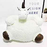 Aycort Child Armchair Sofa, Soft Cute Plush doll Animal Armchair Sofa Chair Home Decoration Children Bedroom Furniture