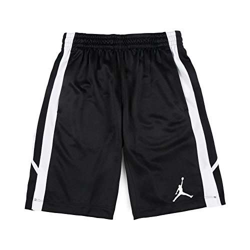 Air Jordan Flight Herren Basketball Shorts in Schwarzem Stoff 887428-010