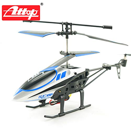 FairytaleMM Attop YD-927 2,4 GHz 3.5 Channel Defensive Drone RC Helicopter Remote Control Blue