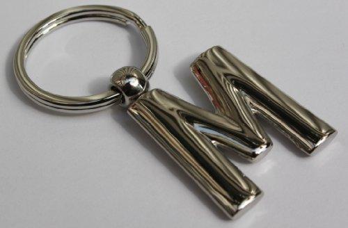 porte-clefs-lettre-m-metal-solide
