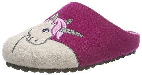 Supersoft Mädchen 542 182 Pantoffeln, Pink (Fuchsia 534), 30 EU