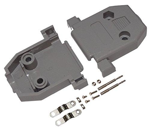 Preisvergleich Produktbild AERZETIX: 2x Gehäuse für Steckverbinder 15pin D-Sub oder D-Sub 26-Pin HD
