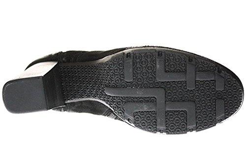 MjusMjus Damen Stiefel - Stivali senza lacci Donna Marrone