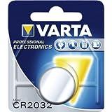 10 x Varta Professional CR2032 Lithium-Batterie 3Volt Typ CR 2032