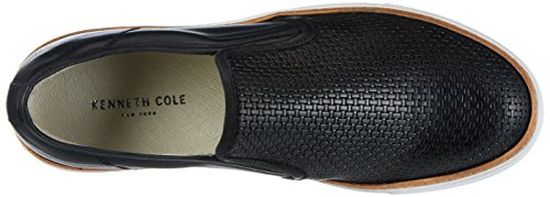 Kenneth Cole Herren Prem-Ier League Slipper Schwarz (Black 001)