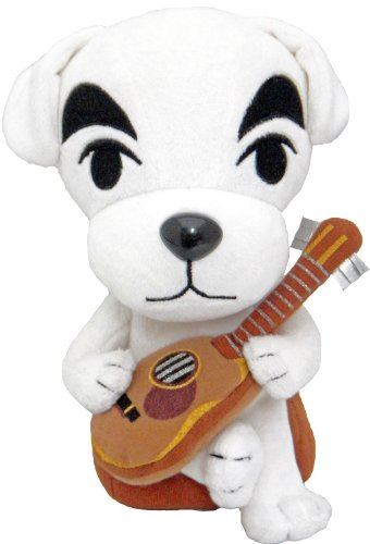 Nintendo Animal Crossing - K.K. Slider Plush - Dog with Guitar - 19cm 7.5""