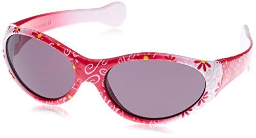 Dice Mädchen Sonnenbrille, shiny white pink, D03159-0