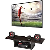 Anikaa Aly TV Entertainment Unit/Wall Set Top Box Shelf Stand (Wenge)