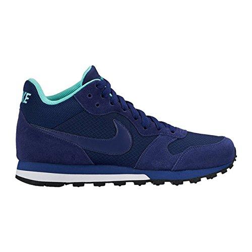 Nike - Wmns Nike Md Runner 2 Mid, Scarpe sportive Donna Azul (Lyl Bl / Lyl Bl-Hypr Trq-Smmt Wh)