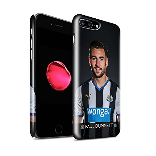 Officiel Newcastle United FC Coque / Clipser Brillant Etui pour Apple iPhone 7 Plus / Sissoko Design / NUFC Joueur Football 15/16 Collection Dummett