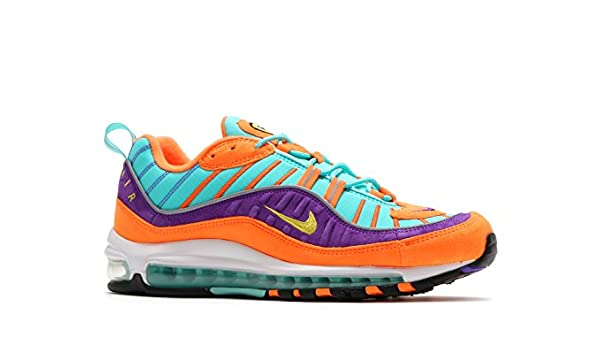 155d5233f7 Nike Men's Air Max 98 QS, Cone/Tour Yellow-Hyper Grape, 8.5 M US: Buy Online  at Low Prices in India - Amazon.in