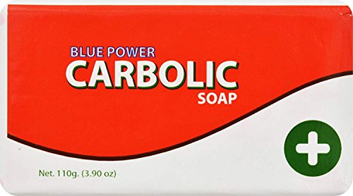 Blue Power Carbolic Soap 125g by Blue Power Limited (English Manual)