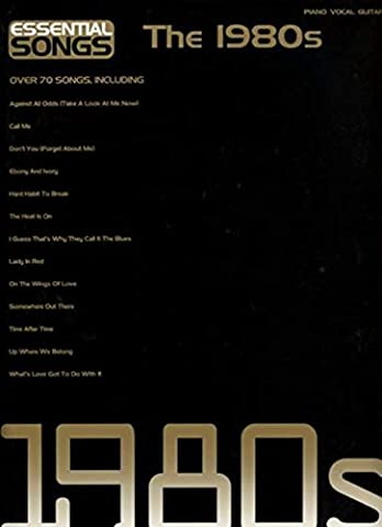 Essential Songs The 1980s-Music Book