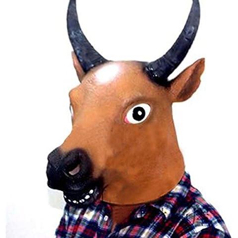 Poseidon Mucca testa di cavallo volto animale