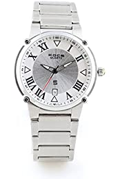 FOCE Analog Silver Dial Men's Classic - Formal Slim Watch - F723GS-SILVER