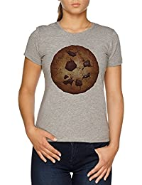 Vendax The Perfect Cookie Camiseta Mujer Gris