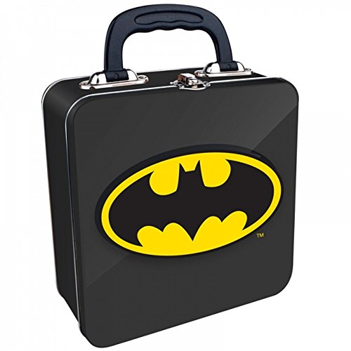 DC Comics - Batman - Blechkoffer Lunchbox Brotdose - Logo - beidseitig ()