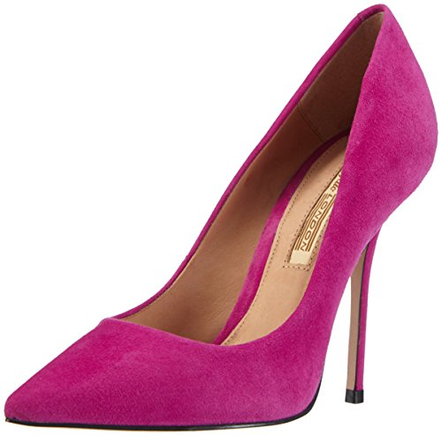 Buffalo London 533X-090 KID SUEDE, Damen Pumps, Pink (MAGENTA 07), 41 EU
