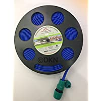 DKN Black Hose Reel with 7.5M Flat Food Grade Hose 3