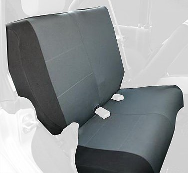 rampage-jeep-5057821-black-gray-polycanvas-rear-seat-cover-for-jeep-wrangler-jk-4-door-by-rampage-pr