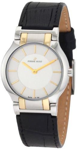 Pierre Petit - P-799C - Montre Femme - Quartz Analogique - Bracelet Cuir Noir