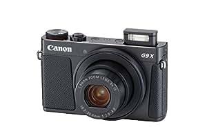 Canon PowerShot G9 X Mark II Compact Digital Camera w/1 inch Sensor and 3inch LCD - Wi-Fi, NFC, Bluetooth Enabled (Black)