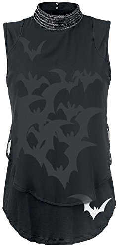 Alchemy England Bats Attack Top donna nero 3XL