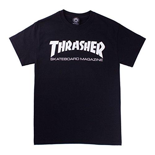 Trasher skatemag t-shirt black (m)