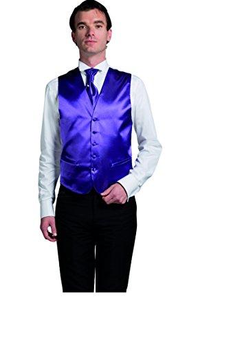 Gilet Cérémonie Homme uni bordeaux ou noir ou écru ou violet Bordeaux