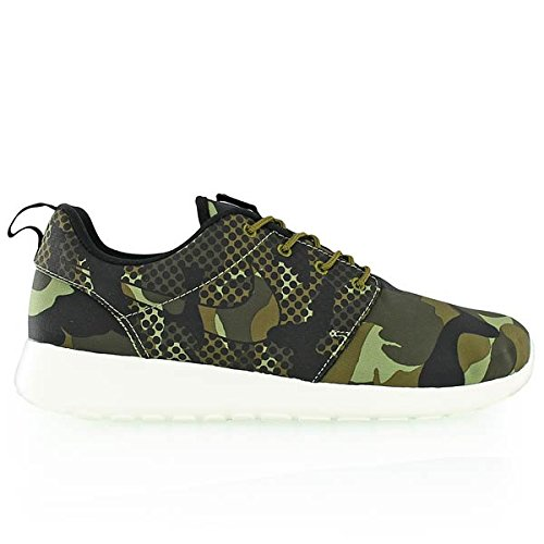 Nike Roshe One Print, chaussures de course homme Varios colores (Verde / Negro (Alligator / Blk-Mlt Grn-Drk Ldn))