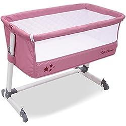 Asalvo 13941 - Cuna de colecho, color rosa