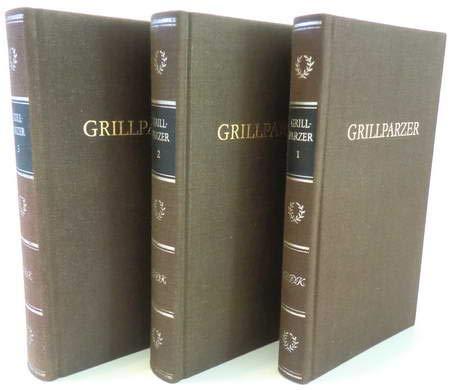 Grillparzers Werke in drei Bänden
