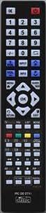 Télécommande de rechange pour sHARP gA896WJSA-livrée avec 2 piles duracell