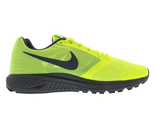 Nike Zoom Structure +17 615587-010 Herren Laufschuhe Verde / Azul (Vlt / Gmm Bl-Dk Armry Bl-Smmt Wh-)