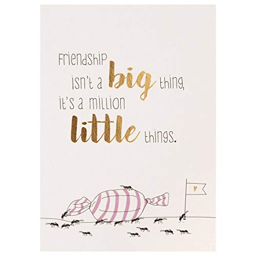 "Mein Lieblingsmensch Postkarte""Friendship isn\'t a big thing\"""
